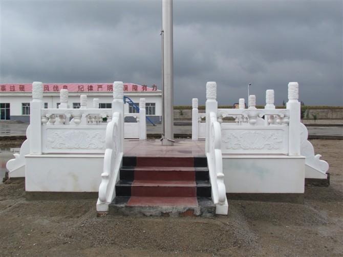 石雕防护栏