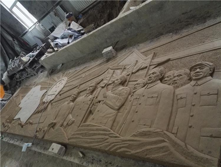 大型浮雕——伟人像