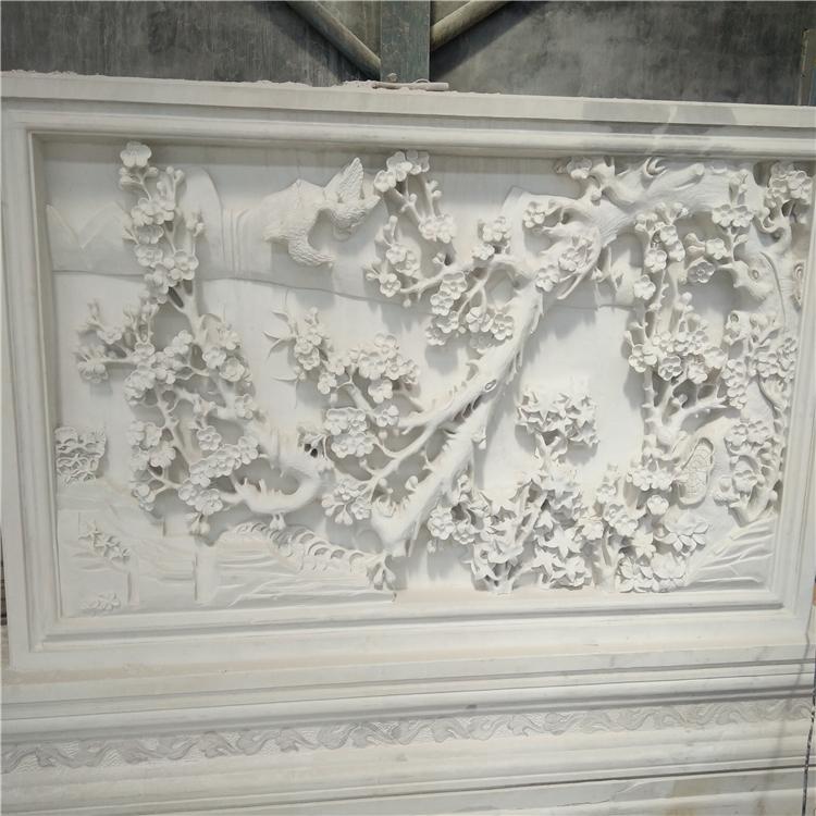 汉白玉壁画