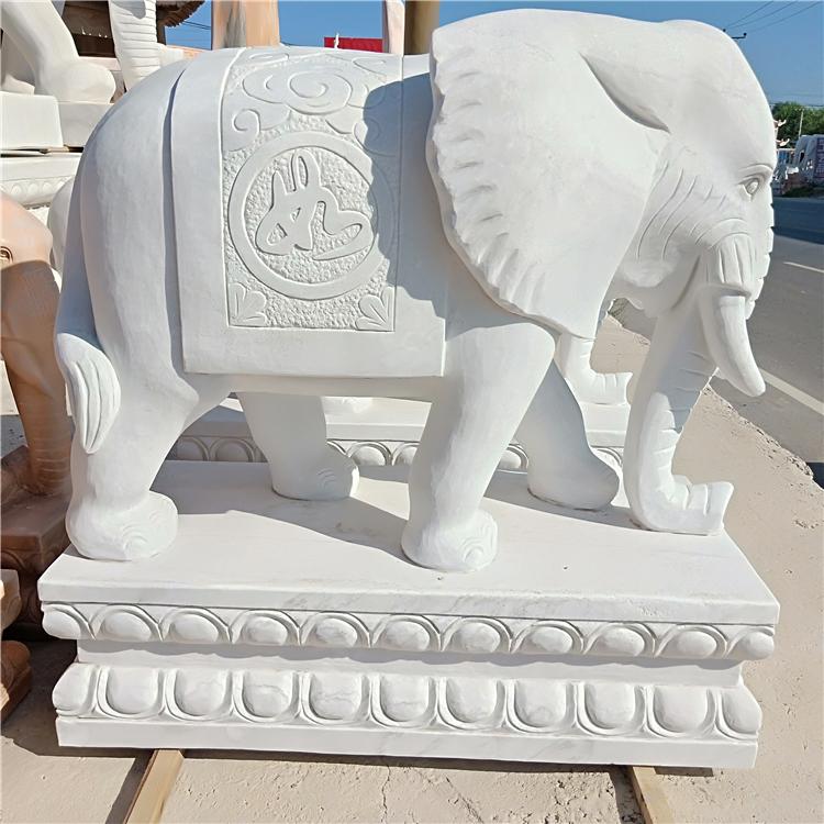 石雕动物-大象