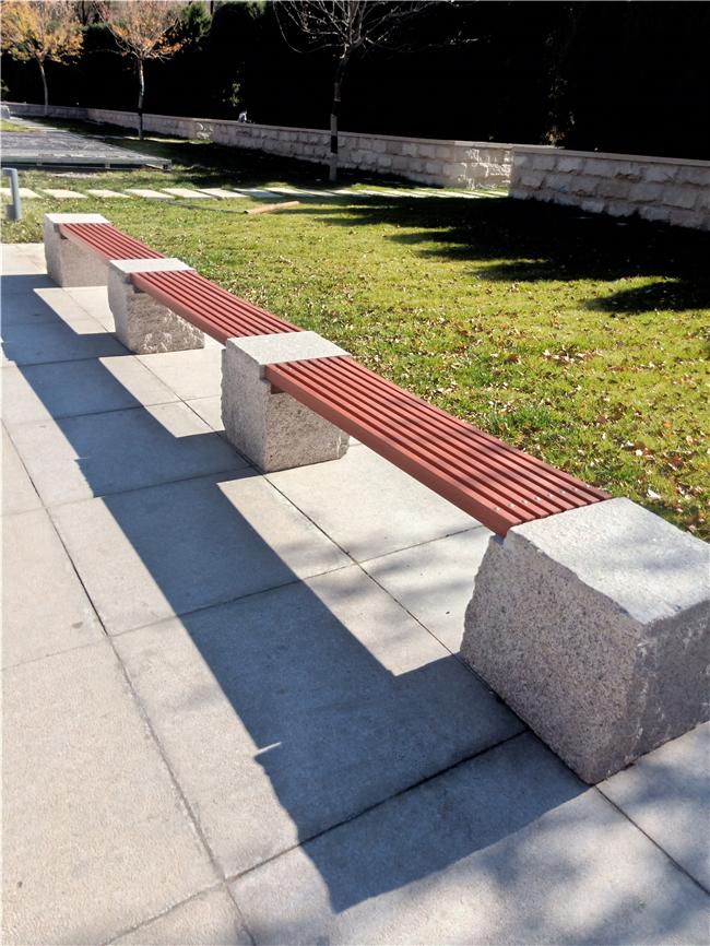 花岗岩石凳