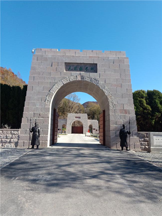 石雕城门楼